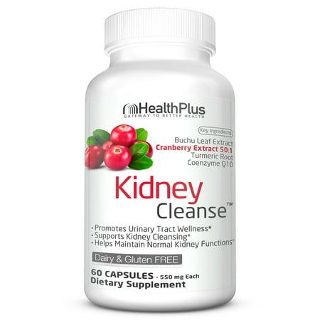 Health Plus Kidney Cleanse, 60 Capsules, 30
