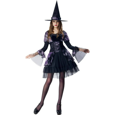 Gothic Witch Adult Halloween Dress Up / Role Play Costume