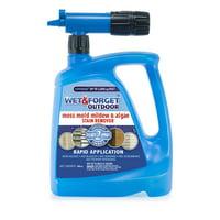 Wet & Forget Outdoor Hose End Rapid Application 48oz