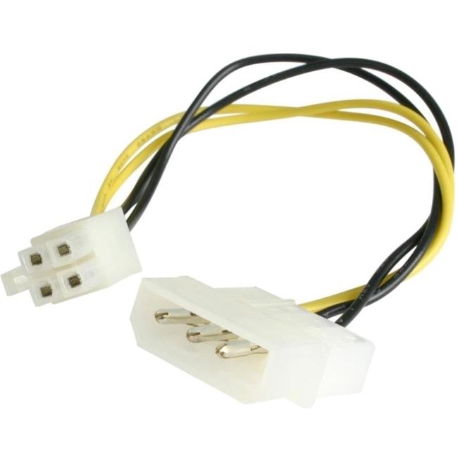 StarTech Power cable adapter 4 pin internal power F 4 pin ATX12V M 15.2 cm LP4P4ADAP
