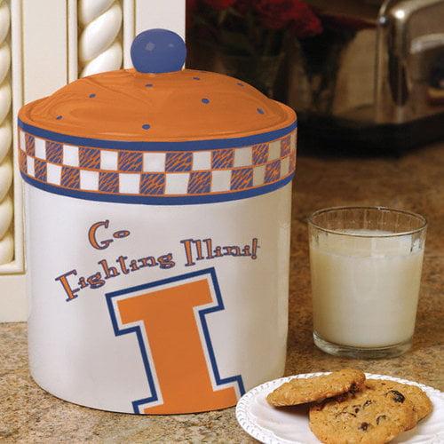 NCAA - Illinois Fighting Illini Gameday Ceramic Cookie Jar