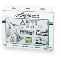Alaska Airlines Airport Play Set New Livery