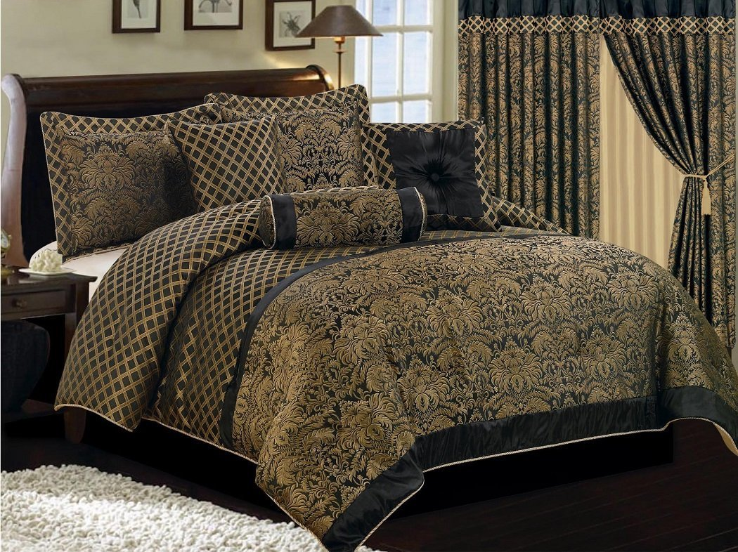 of comforter set s picture embroidery piece collection chezmoi full forest bamboo p