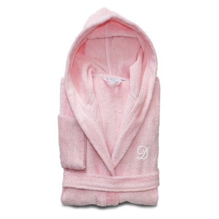 Personalized Kids Turkish Cotton Hooded Terry Bathrobe