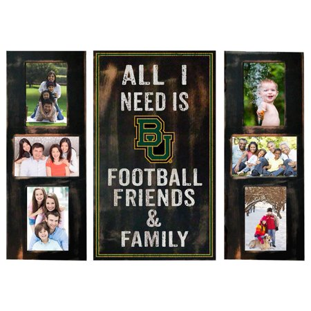 Baylor University Bears Picture Frame Set All I Need 3pc Picture Collage