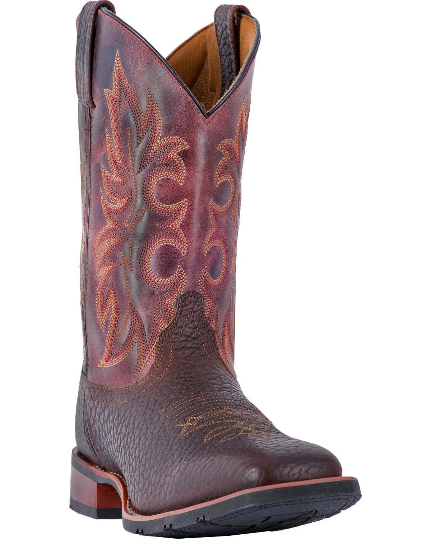 Laredo Men's Durant Cowboy Boot Square Toe 7839 by Laredo