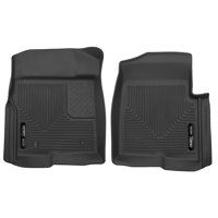 Husky Liners Front Floor Liners Fits 09-14 F-150 SuperCrew/SuperCab/Standard