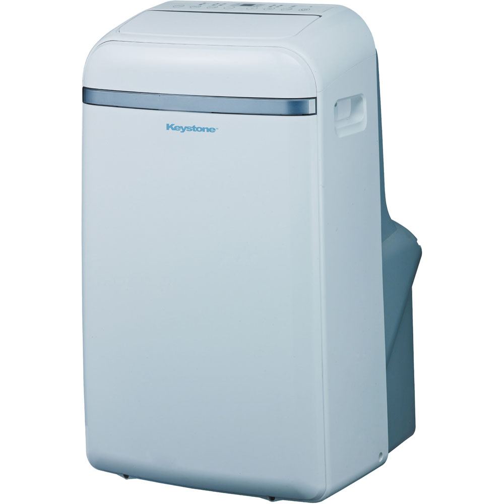 "Keystone KSTAP12B 12,000-BTU 115V Portable Air Conditioner with ""Follow Me"" LCD Remote Control"