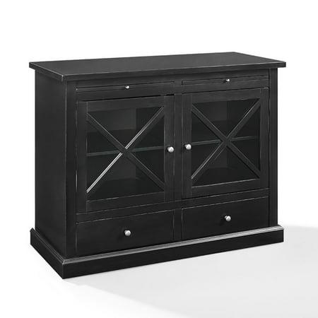 Crosley Furniture Jackson Accent Cabinet In Black