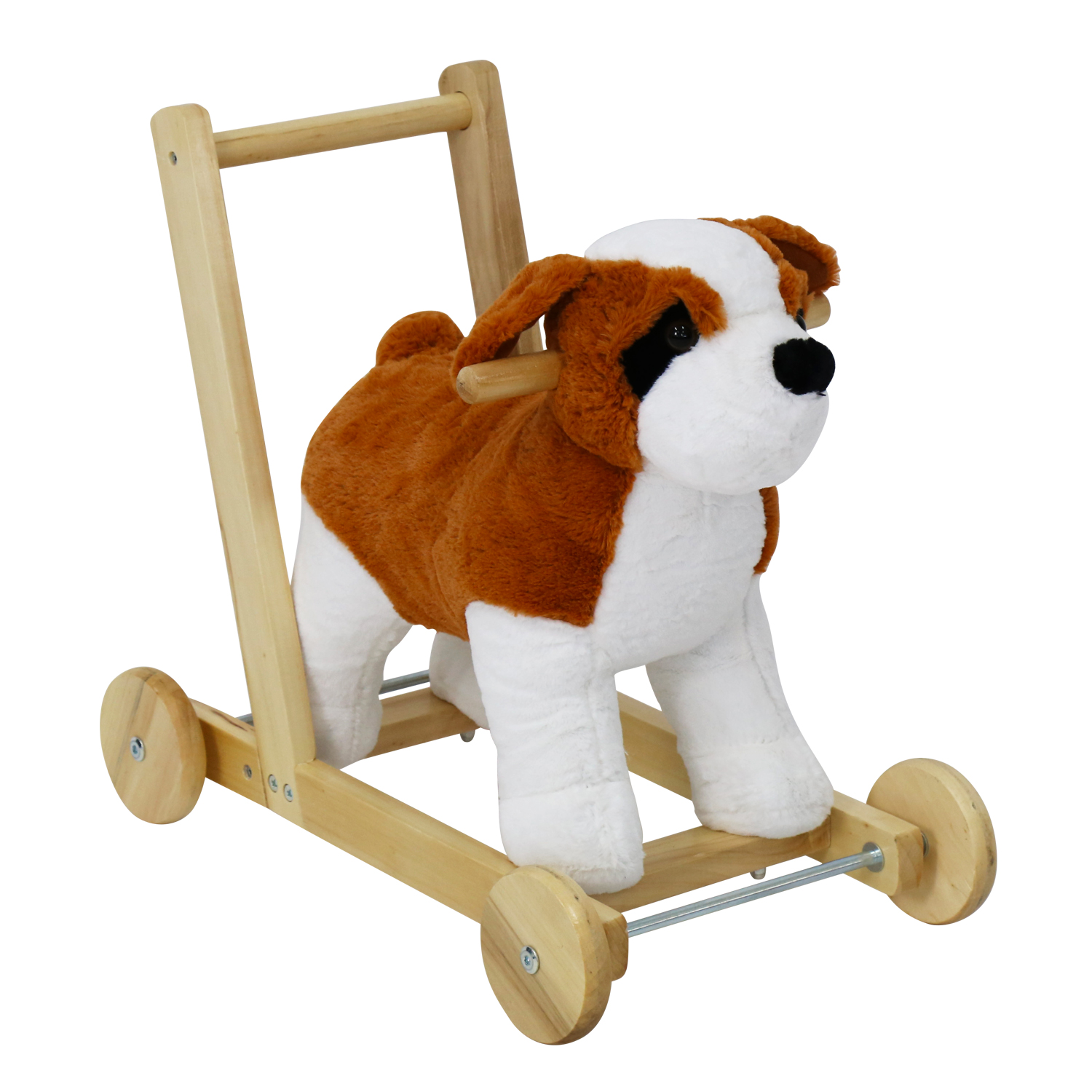 Kinbor Kids Girls Boys Pony Ride on Horse Dog Theme Style...