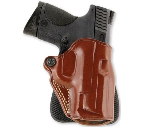 Galco Speed Paddle Holster - Left Hand, Tan, 1911 Commander Model