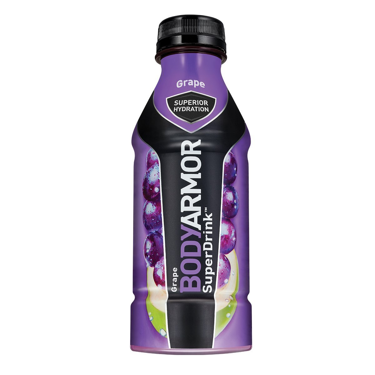 BodyArmor SuperDrink, Electrolyte Sport Drink, Grape 16 Oz (Pack of 48)