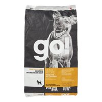 Petcurean Go! Sensitivity + Shine Limited Ingredient Grain-Free Duck Recipe Dry Dog Food, 25 lb