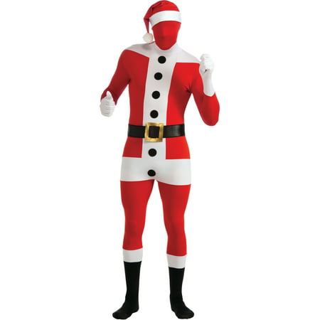 Adult Santa Claus Second Skin Professional Quality Full Body Jumpsuit - Professional Costume Rental