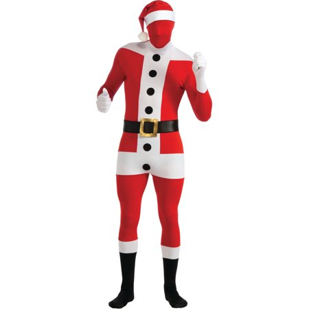Adult Santa Claus Second Skin Professional Quality Full Body Jumpsuit - Full Body Catsuits