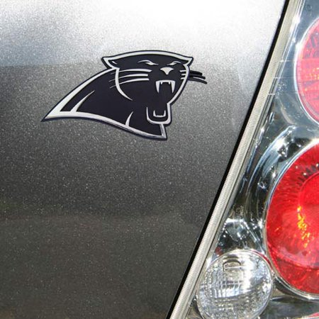 Carolina Panthers Chrome Auto Emblem - No Size - Carolina Panthers Funny