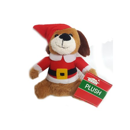 Christmas House Santa Elf Dog Plush 6