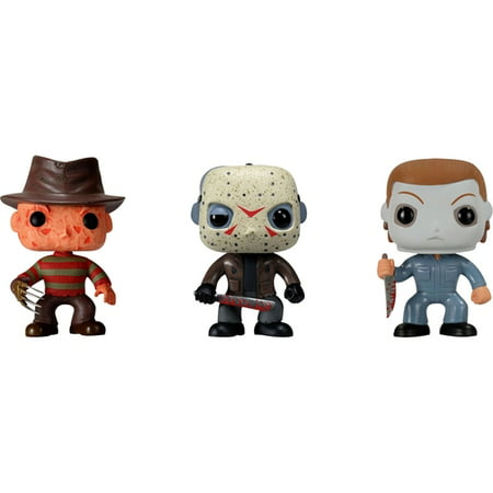 Funko - Horror Classics Pop! Movies Vinyl Collectors Set: Freddy Krueger, Jason Voorhees, Michael
