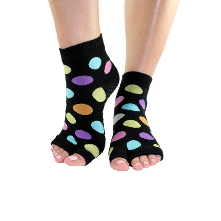 f7a693f02 Toezies - Happy Tabi Toe-less Grip Socks (S M) - Walmart.com