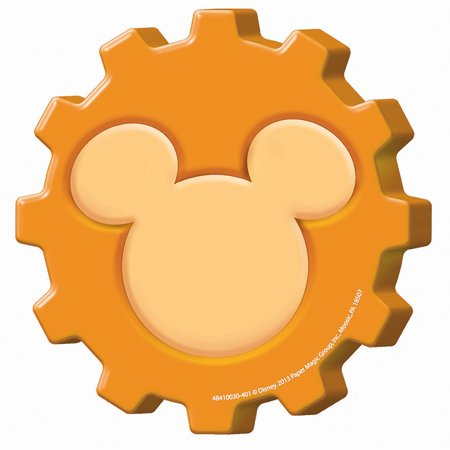 MICKEY MOUSE CLUBHOUSE GEARS PAPER CUT OUTS - Mickey Mouse Cut Out