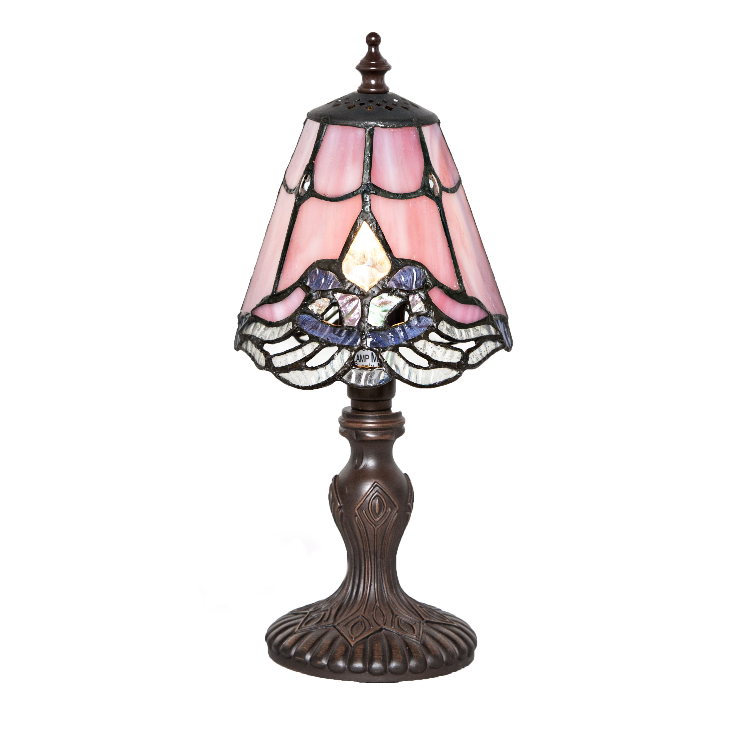 River of Goods Mini Crystal Lace Accent Lamp