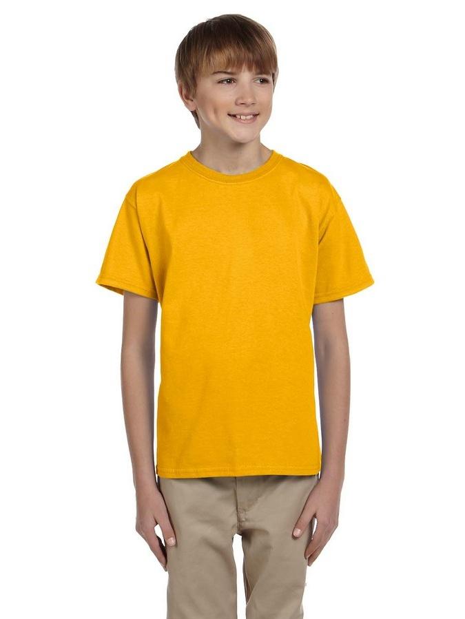 Gildan Boys Ultra Cotton Seamless Collar T-shirt G200B