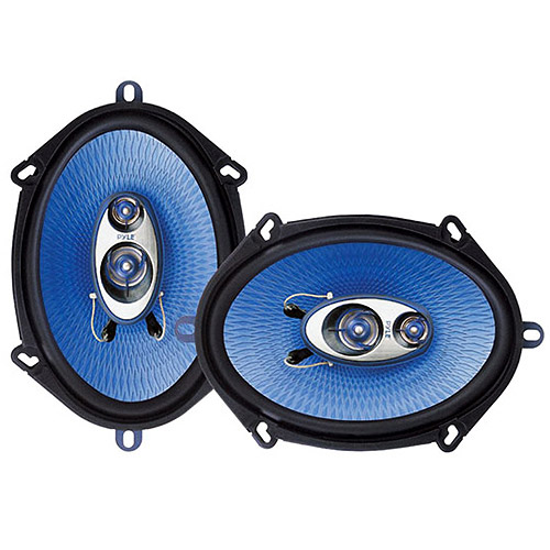 "Pyle PL573BL Blue Label 3-Way 5"" x 7"" Triaxial Speakers"