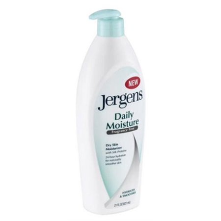 Jergens Daily Moisture Dry Skin Moisturizer Fragrance Free 2