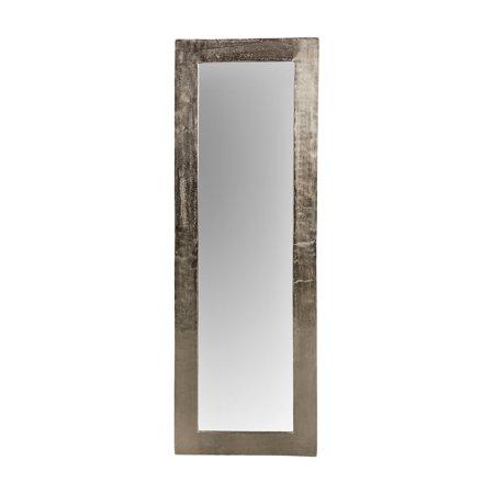 renwil marella lead aluminum framed full length mirror 20w x 58 5h in. Black Bedroom Furniture Sets. Home Design Ideas