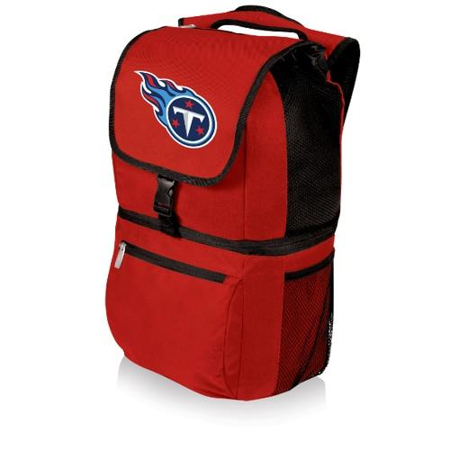 NFL Backpack Cooler by Picnic Time - Zuma, Tennessee Titans - Red