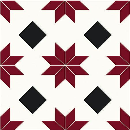 FloorPops Orion Peel & Stick Floor Tiles 10 Tiles/10 sq. ft.