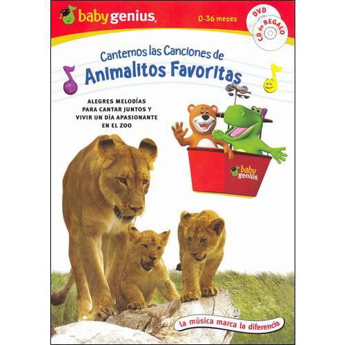 Baby Genius: Cantemos Las Canciones De Animalitos Favoritas (Spanish Language Packaging) (With Music CD) (Full Frame)
