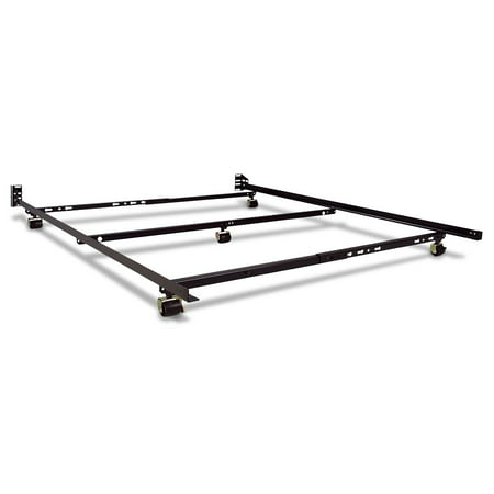 Restmore 46 Low Profile Bed Frame - Full/Queen Size - Walmart.com