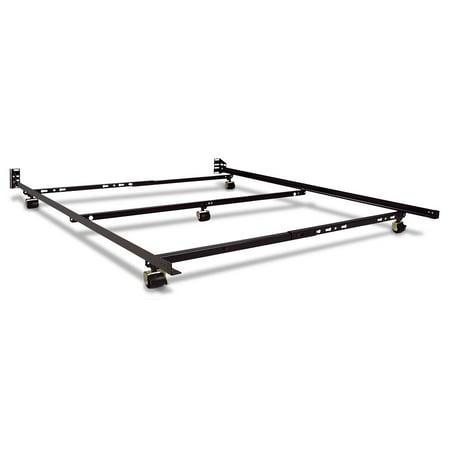 Restmore 46 Low Profile Bed Frame Fullqueen Size Walmartcom