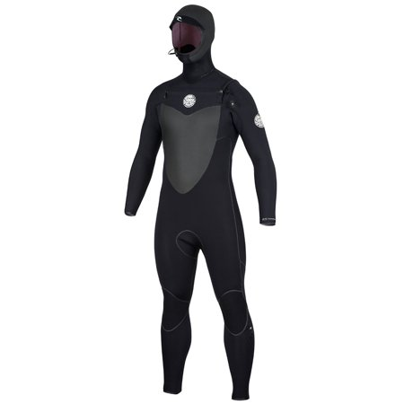 4/3mm Men's Rip Curl FLASH BOMB Hooded Fullsuit (Rip Curl Flash Bomb Wetsuit)