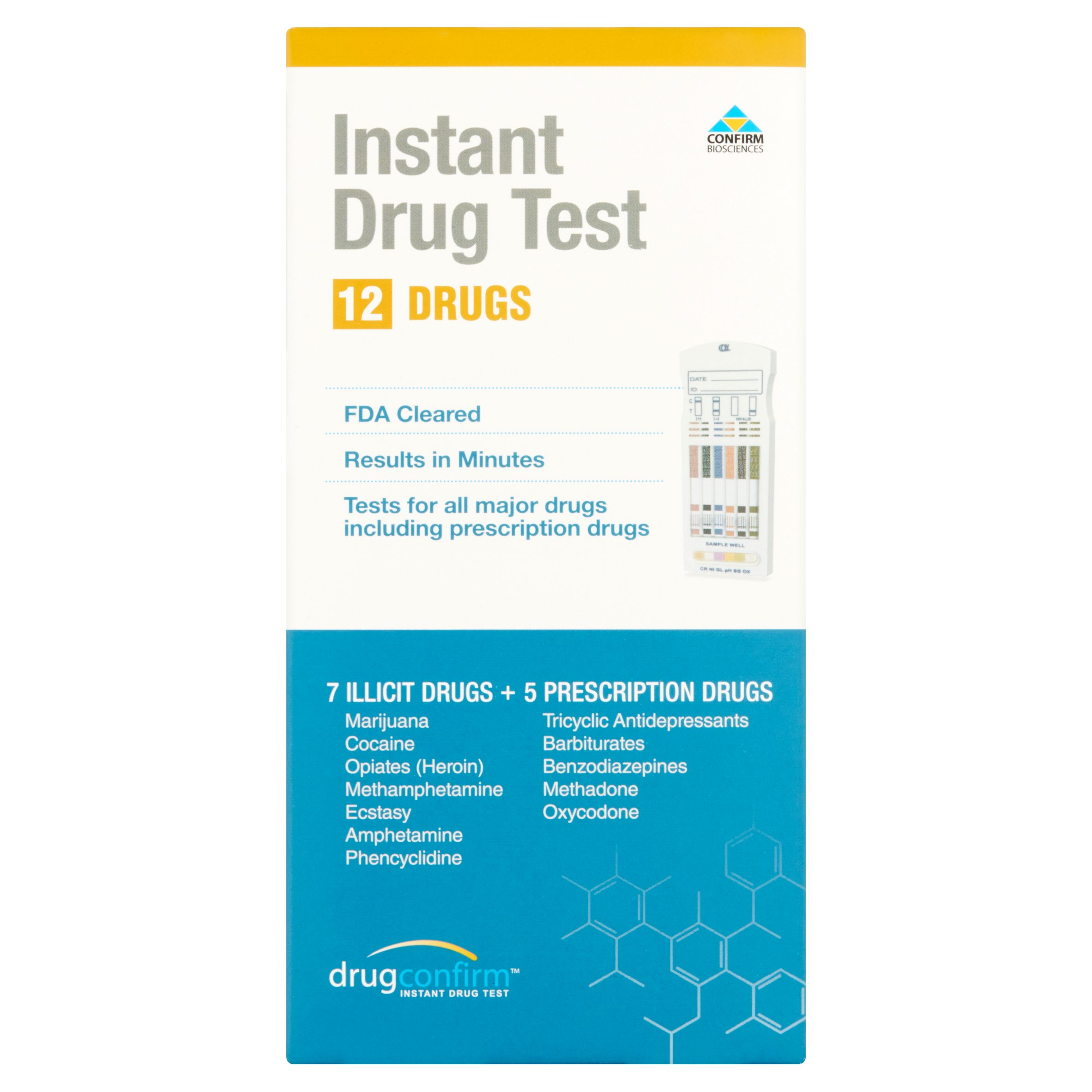 DrugConfirm Instant Drug Test for 12 Drugs