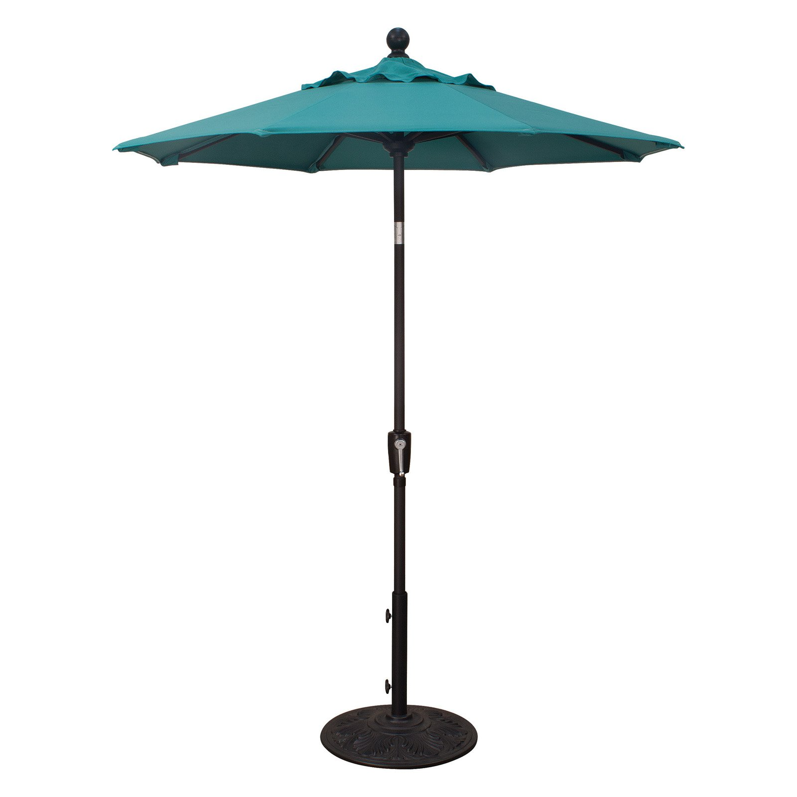 treasure garden 6 ft. obravia push button tilt patio umbrella 6 Ft Patio Umbrella