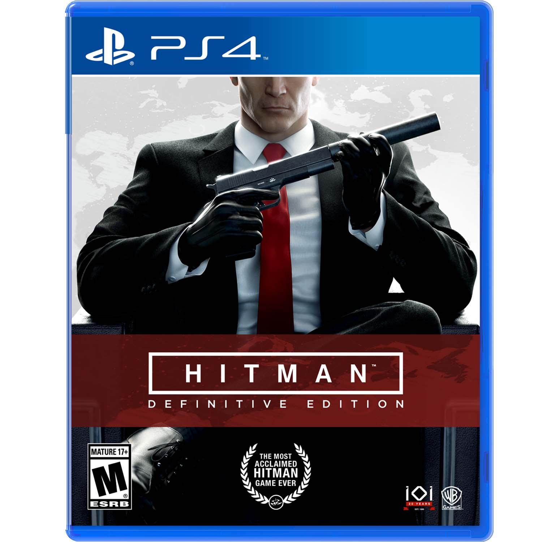 Hitman: Definitive Edition, Warner Bros, PlayStation 4, 883929639175