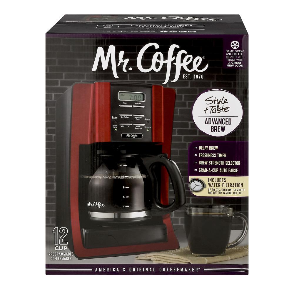 Mr. Coffee Advanced Brew 12-Cup Programmable Coffee Maker BVMC-SJX36GT