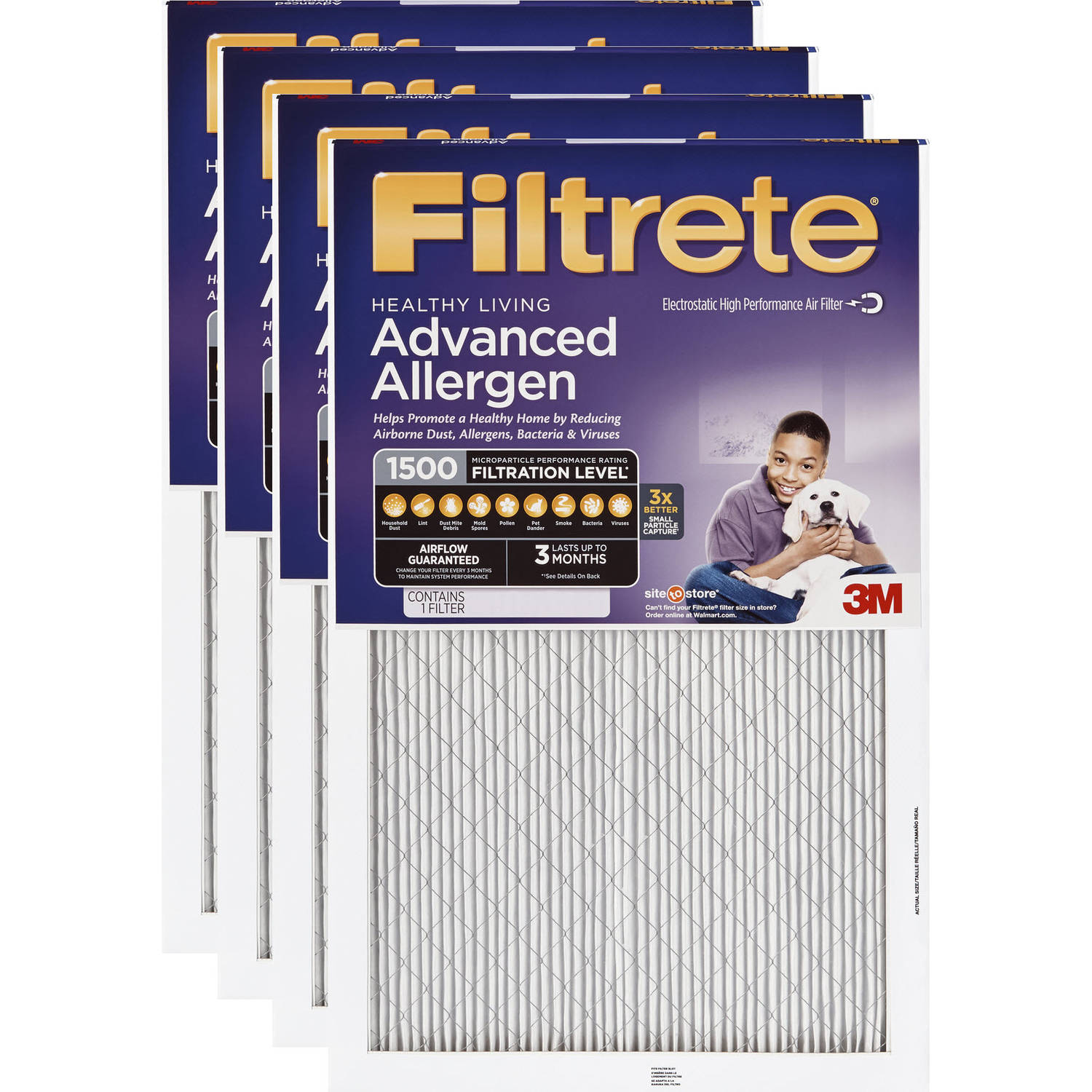 3m Filtrete Advanced Allergen Reduction Fil