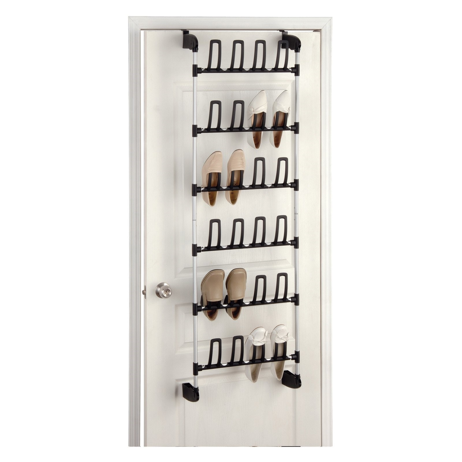 Organize It All Overdoor 12-Pair Shoe Rack by Organize It All