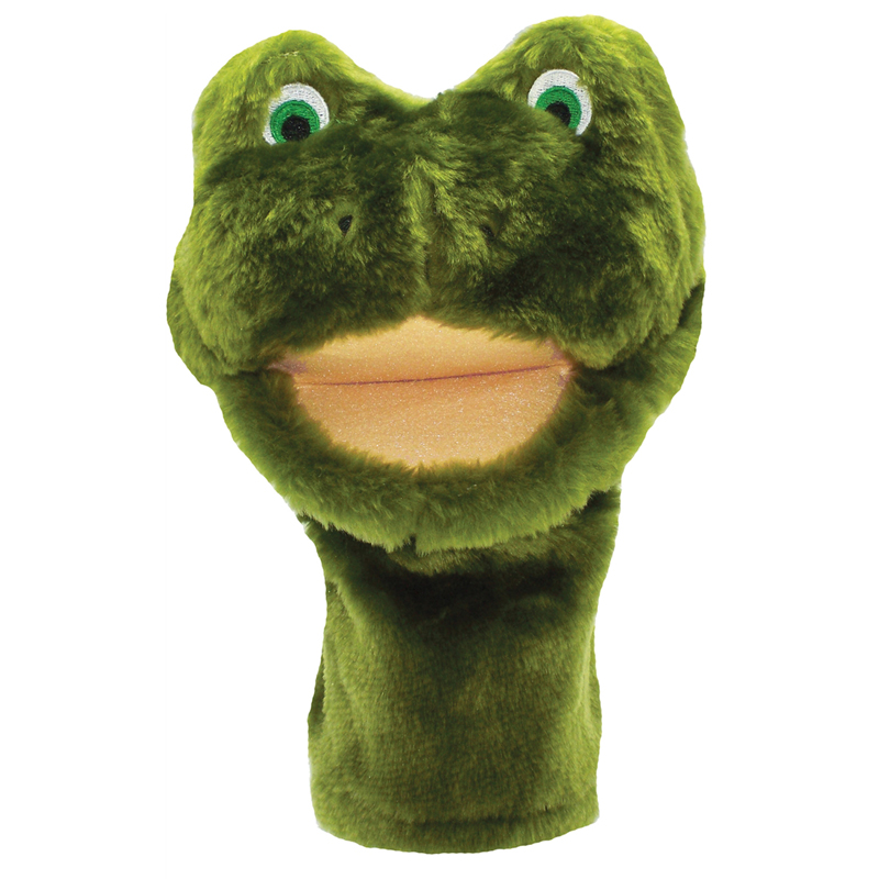 Plushpups Hand Puppet Frog - image 1 of 1