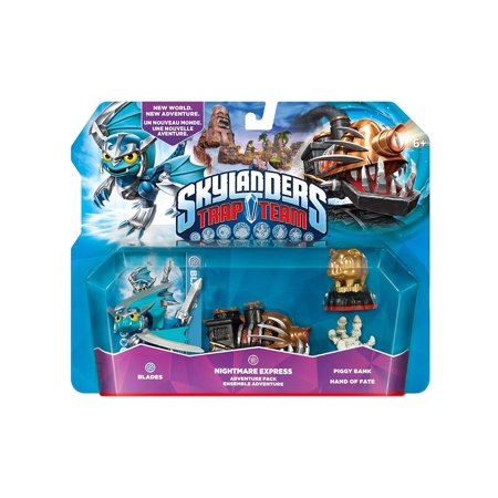 Skylanders Trap Team: Nightmare Express Level Pack (Wallop Skylander)