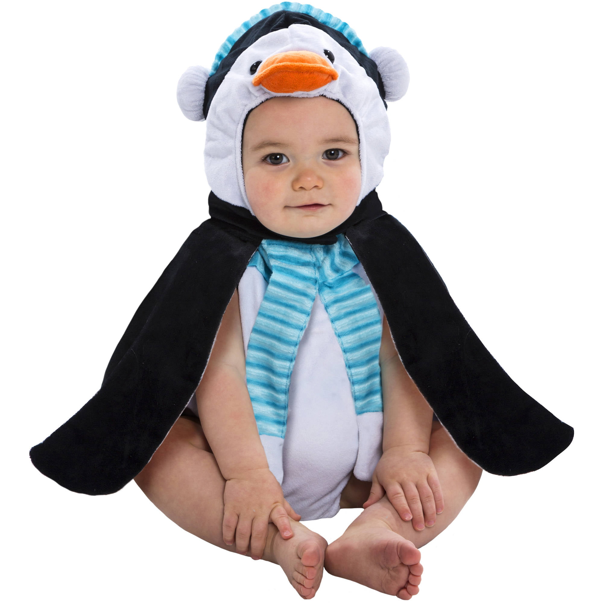 penguin bubble infant halloween dress up role play costume walmartcom - Infant Penguin Halloween Costume