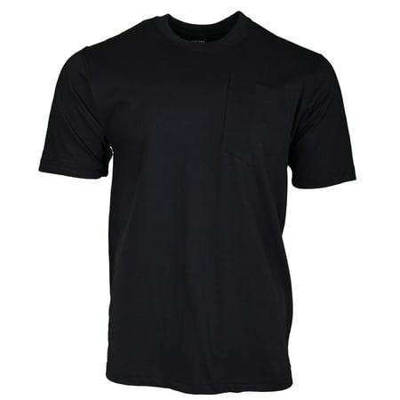 Heavyweight Short Sleeve Pocket T-Shirt - Black Black Youth Heavyweight T-shirt