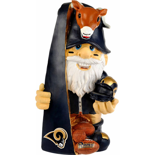 Forever Collectibles NFL Thematic Gnome Version 2, St. Louis Rams