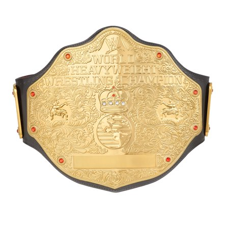 Official WWE Authentic  World Heavyweight Championship Replica Title Belt (2mm Version)  Small](Wwe World Heavyweight Championship Belt)
