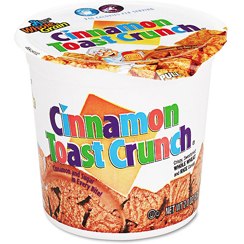 Cinnamon Toast Crunch Cereal Cups, 6ct