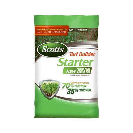 Scotts Lawns 21710 Scotts Turf Builder Starter Food for New Grass - Florida Fertilizer