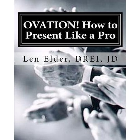 Ovation - How to Present Like a Pro : The Re-Invention of Adult Education - Semi Pro Costume